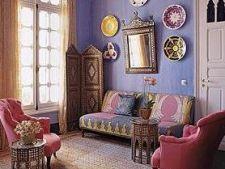 Rafinament si exotism - stilul marocan