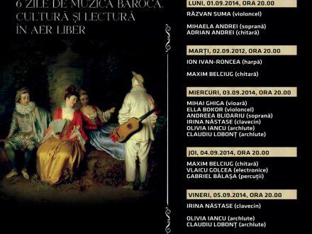 Festival de muzica baroca, la Biblioteca Nationala. Programul complet
