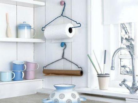 Suporturi DIY pentru prosoapele de bucatarie! Idei din care sa te inspiri