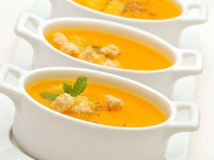 Supa crema de morcovi cu ghimbir, ideala in zilele reci