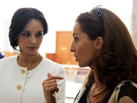 Andreea Marin si Mihaela Radulescu, fata in fata la repetitii! Vad rosu in fata ochilor