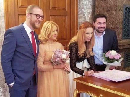 Simona Gherghe s-a maritat! Imagini de la cununia oficiata de primarul Firea