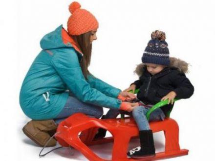 Hai afara la zapada! Saniute adorabile, pentru copii plini de energie!