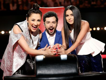 Andra, Moga si INNA asteapta toti copiii talentati la Vocea Romaniei Junior