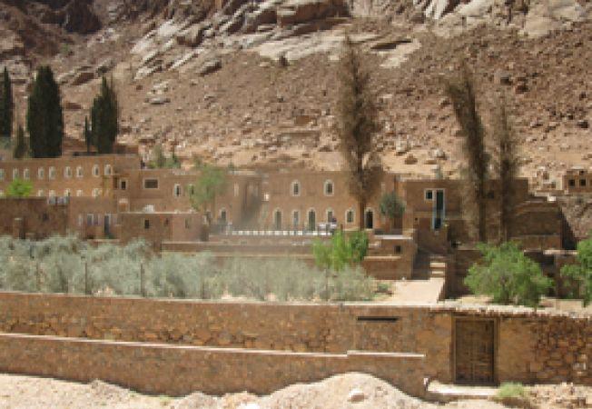 Manastirea Sf Ecaterina, Sinai