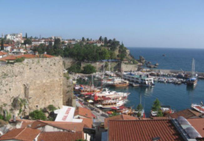 portul din Antalya