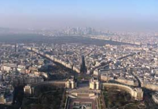 Eiffel, vedere spre nord, acasa.ro