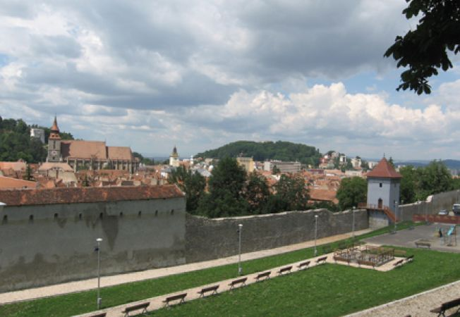 Brasov, zidurile cetatii
