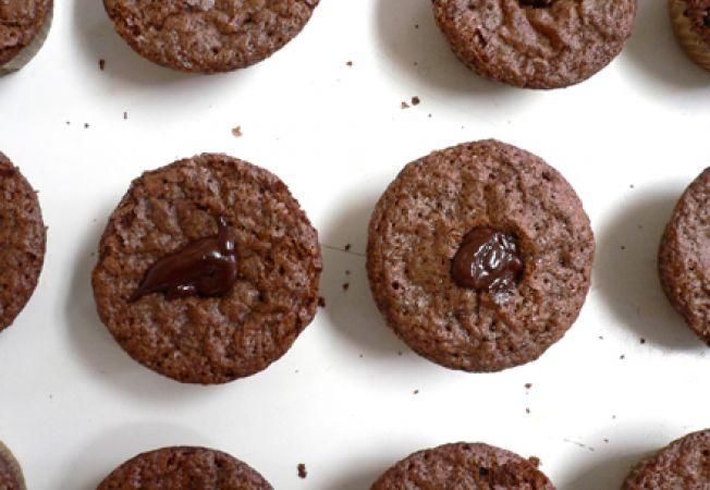 prajiturele cu ciocolata si cacao