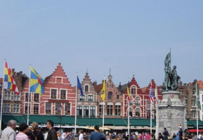Bruges piata