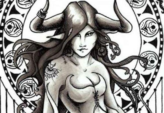 femeia taur