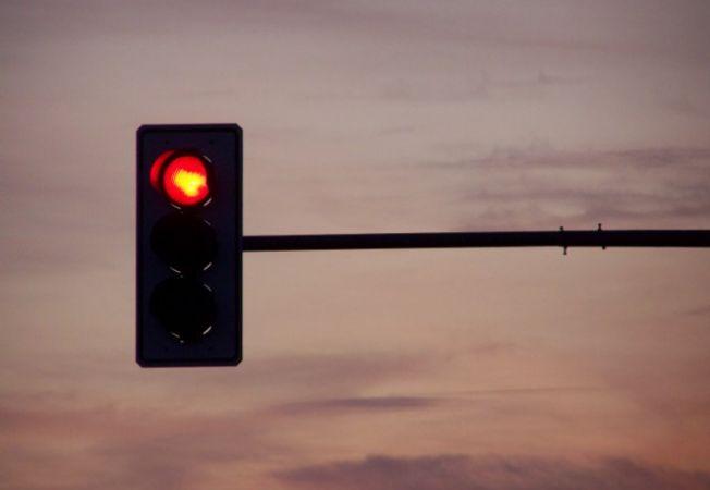 semafor rosu