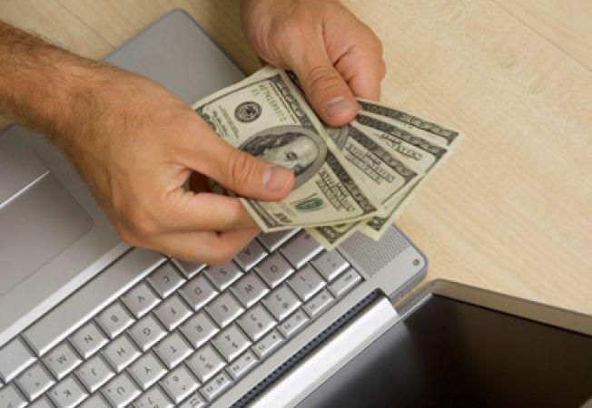 bani pe internet