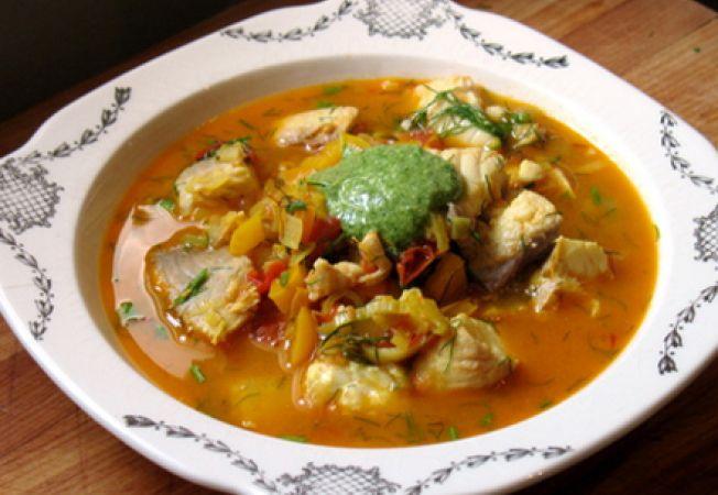 supa italieneasca cu peste