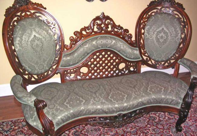 canapea victoriana
