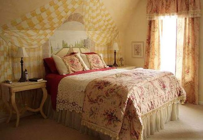Dormitor stil romantic