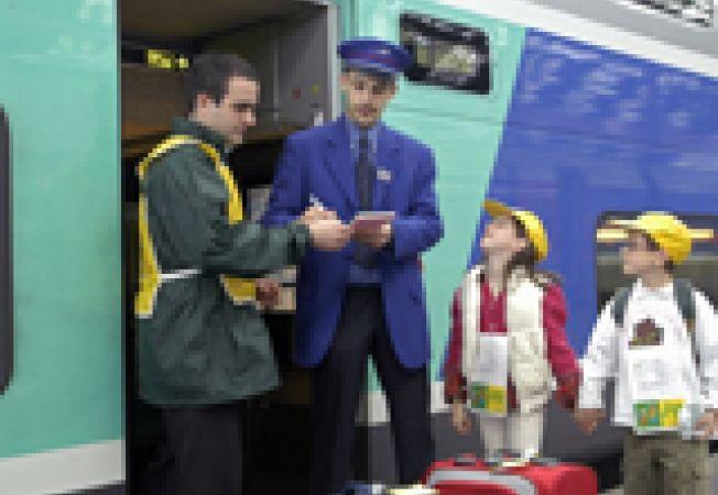 tren tata copii