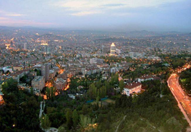 Ankara, panorama seara
