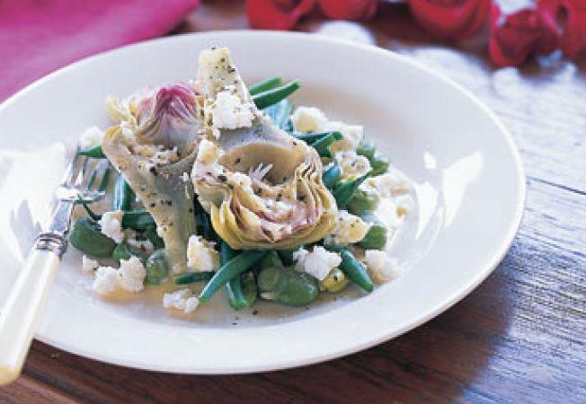 salata anghinare