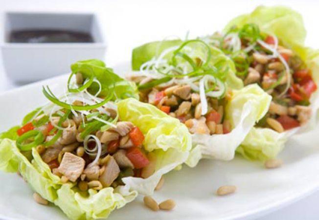platou de salata verde