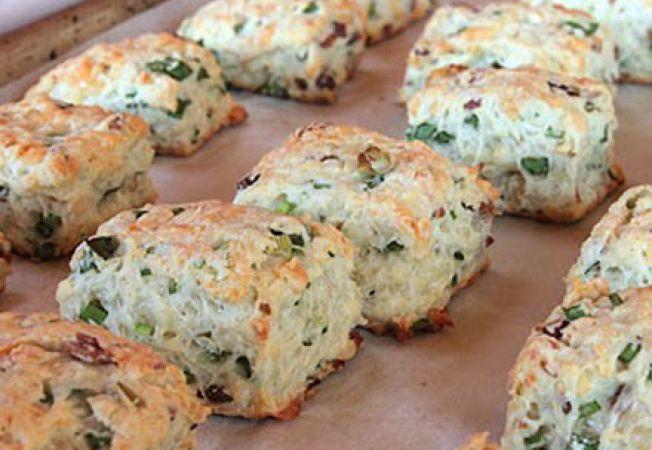 biscuiti ceapa verde
