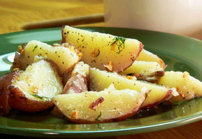 cartofi noi usturoi