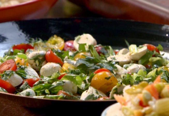 salata rucola mozzarella