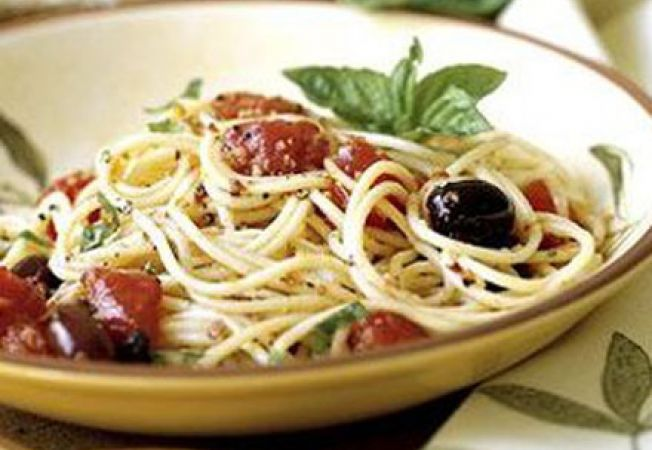 spaghete rucola
