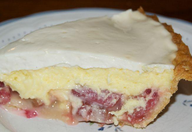 Cheesecake cu rubarba