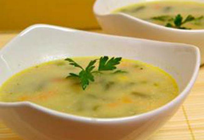 Supa de legume in lapte