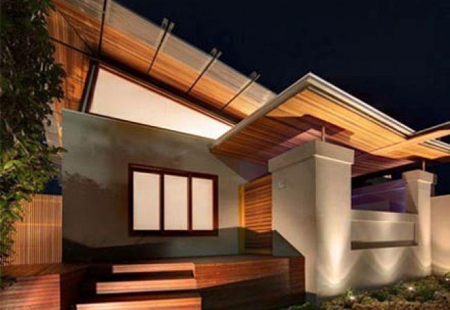 Lemnul ca ornament pentru exteriorul casei