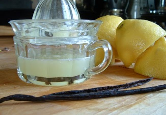 Limonada cu vanilie