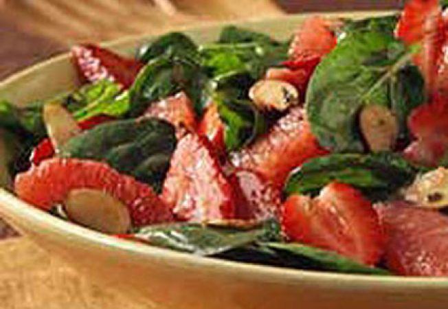 Salata de migdale si ghimbir