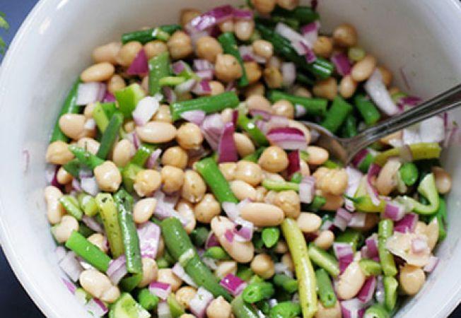 Salata de fasole verde si boabe