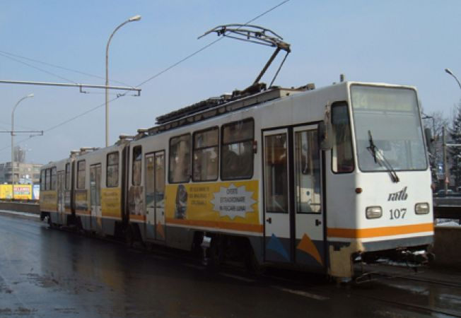 Linia de tramvai 1 (fosta 34), prima cu traseu inelar in Bucuresti