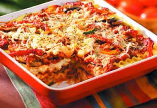 Lasagna vegetala la cuptor