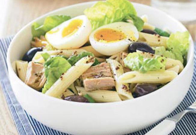 Salata de ton si macaroane