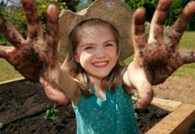 Cum sa creezi o gradina pentru copii