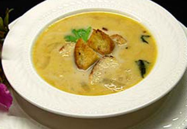 Supa de ceapa cu branza