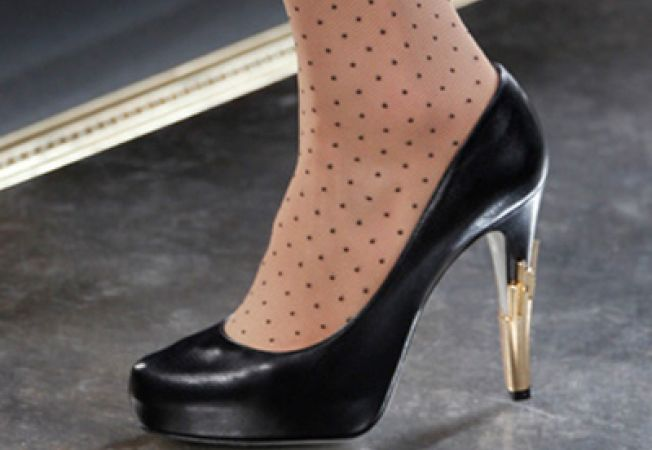 Pantofi cu toc pentru toamna 2011
