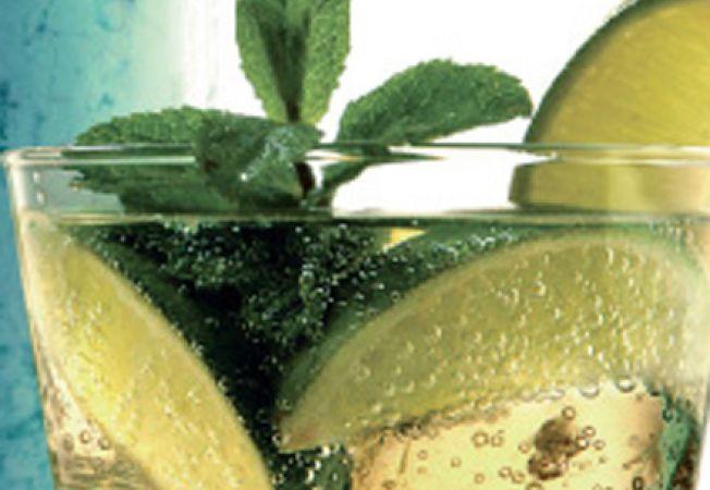 Cocktail Mojito cu mere