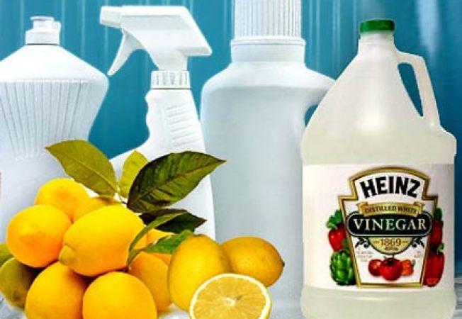 Solutii naturale-minune pentru curatarea casei