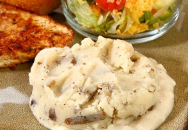 Piure de cartofi cu usturoi