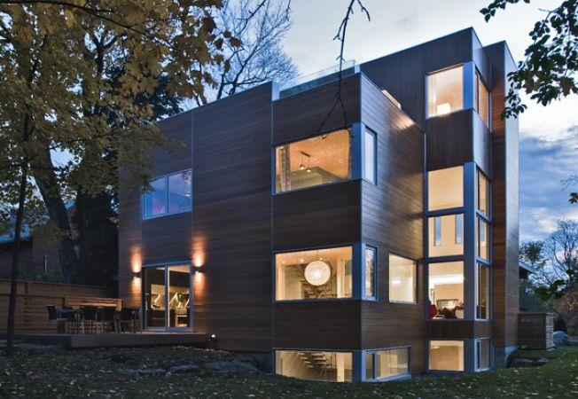 Casa cub, o alternativa la moda