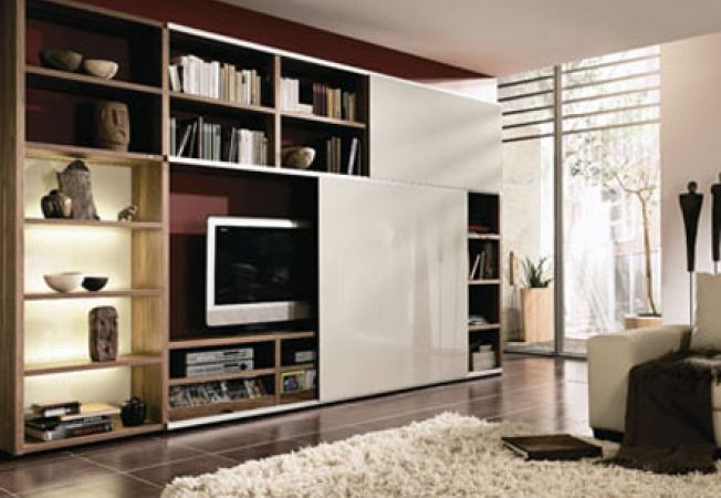 Cum sa faci la comanda biblioteca pentru living room