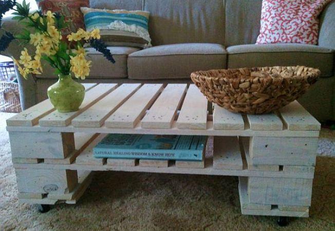 Cum sa transformi paletii de lemn in piese de mobilier - I