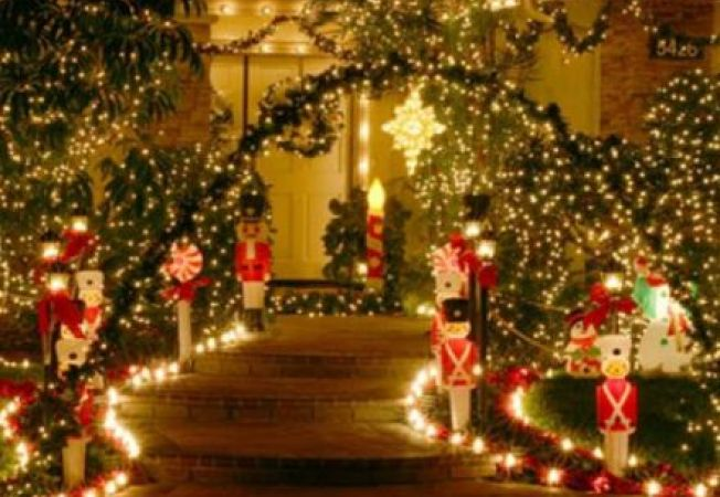 Luminitele de Craciun in gradina: ce trebuie sa stii - II