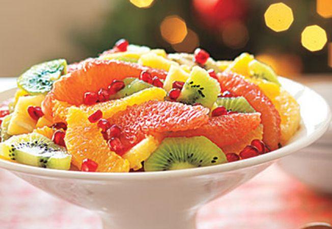 Reteta de Craciun: salata de fructe