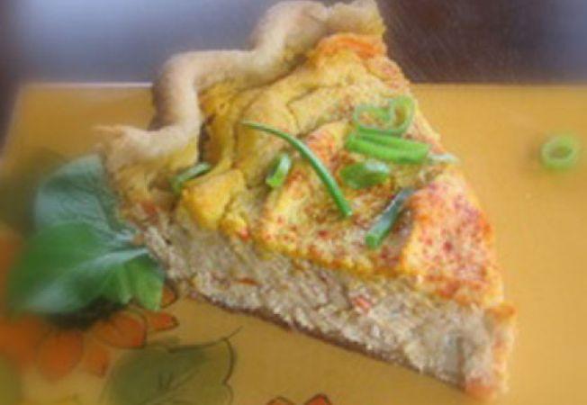 Reteta vegetariana: quiche din tofu si legume