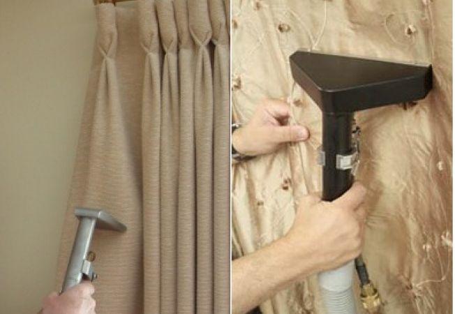 Cum sa cureti draperiile